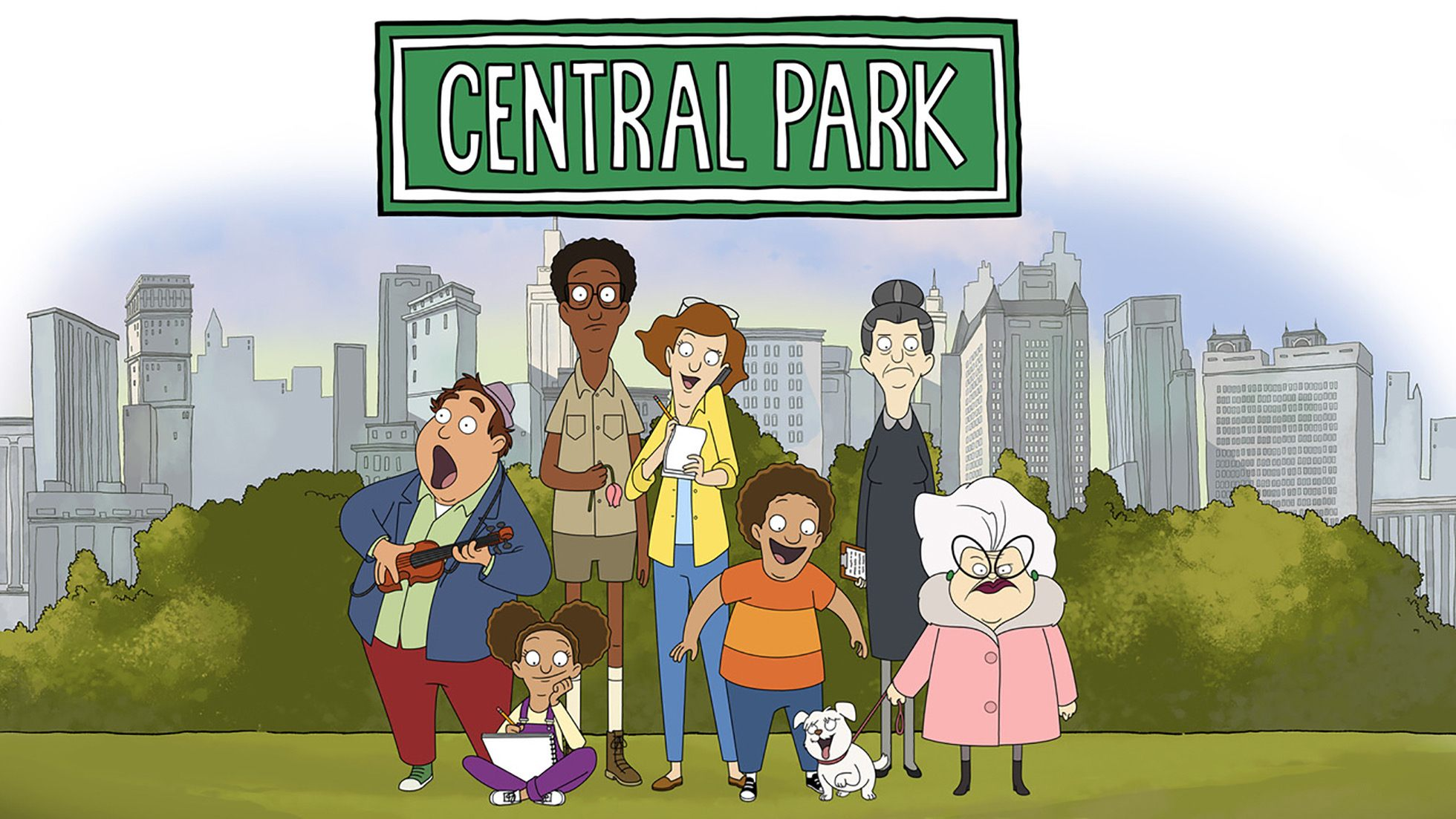 Central Park is the newest series from the mind behind Bob's Burgers.