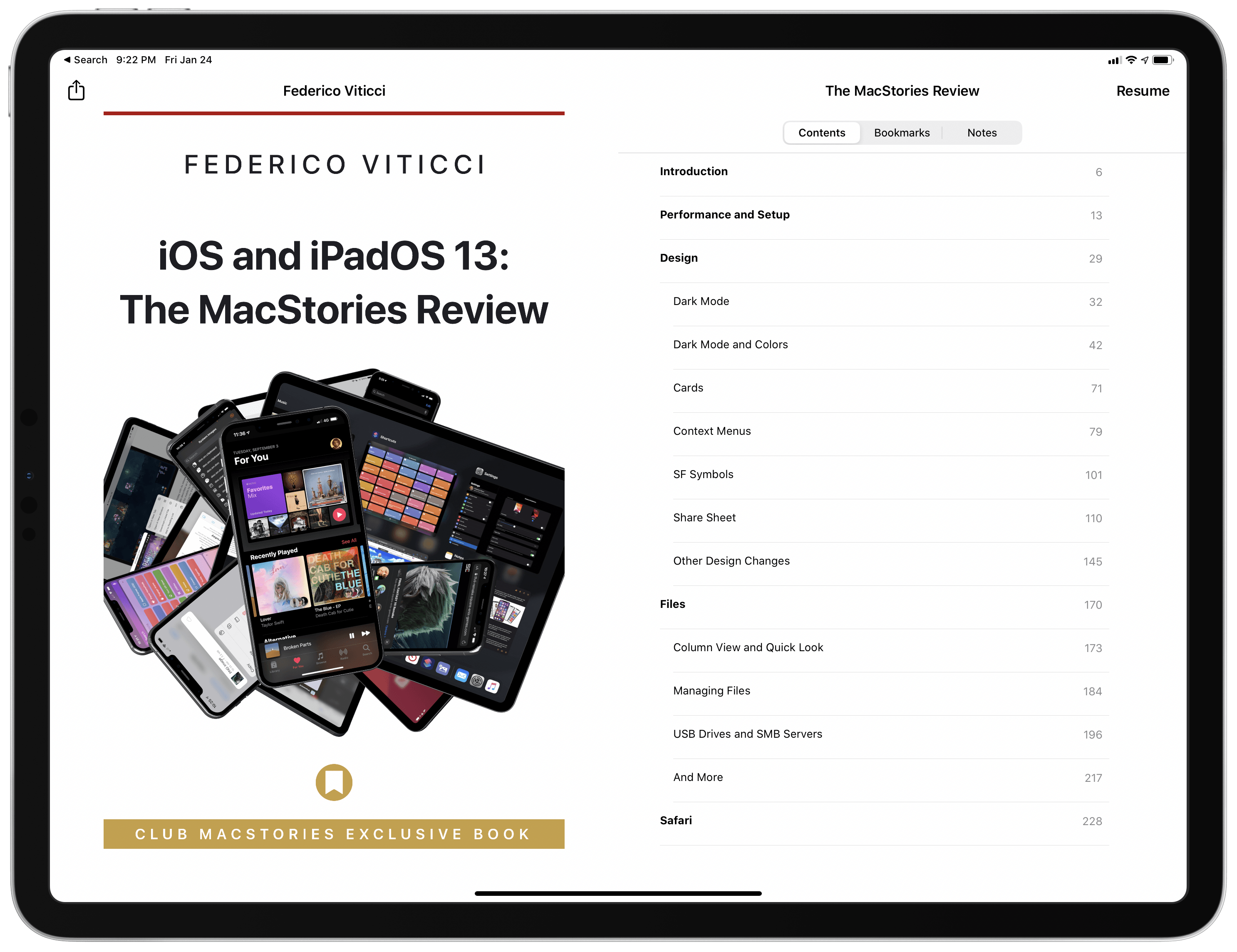 Federico's annual iOS and iPadOS reviews will be available as eBooks exclusively for Club MacStories members.
