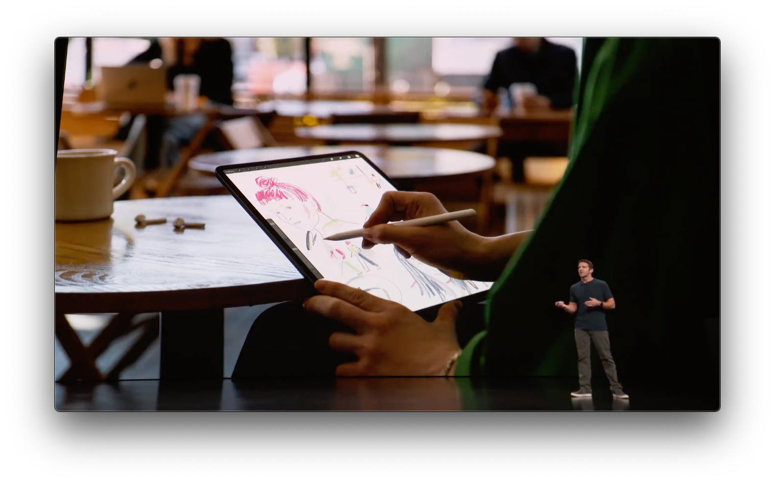 Today, the iPad Pro emphasizes creativity and there are multiple input options.