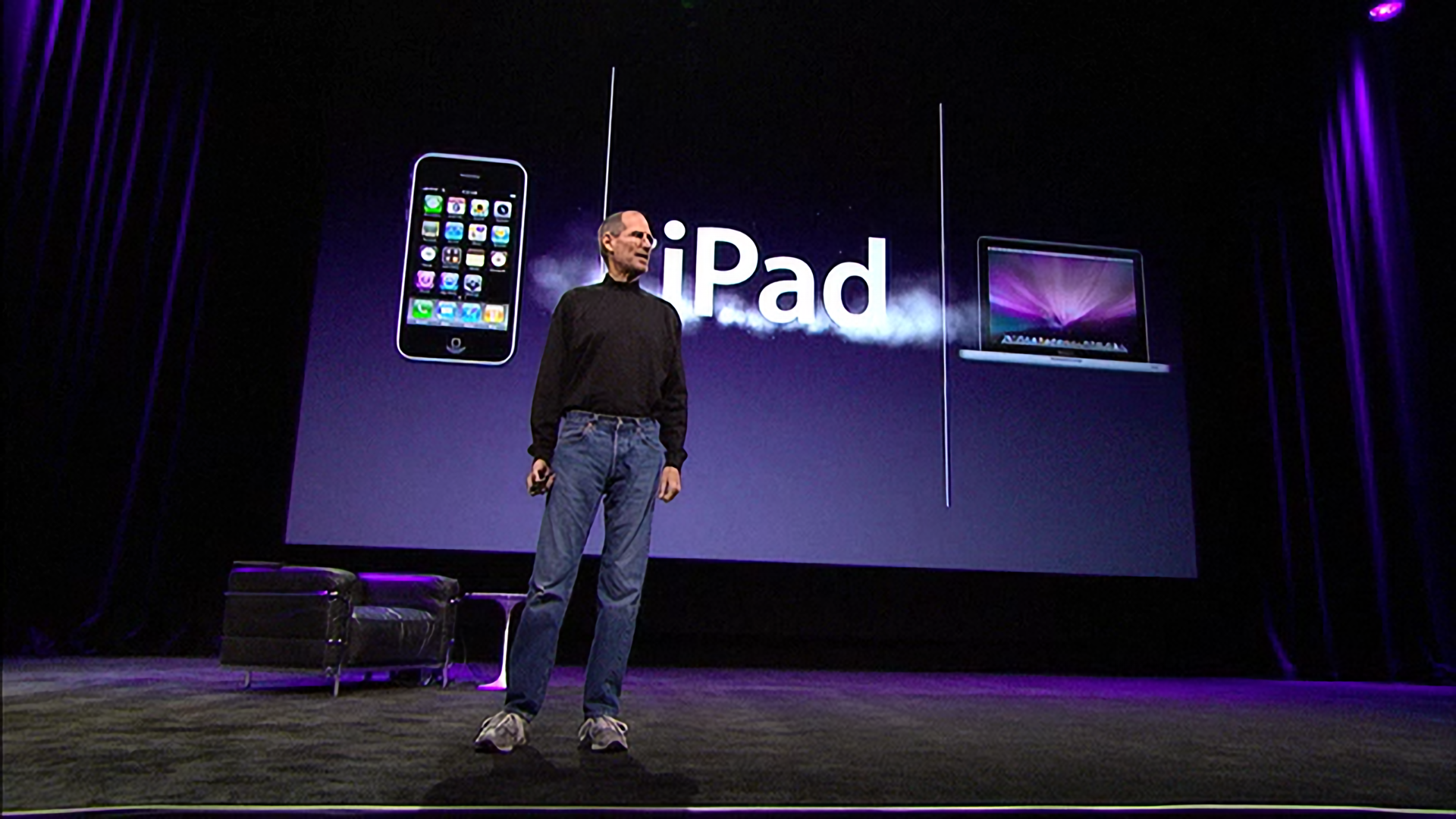 '...and we call it the iPad.'