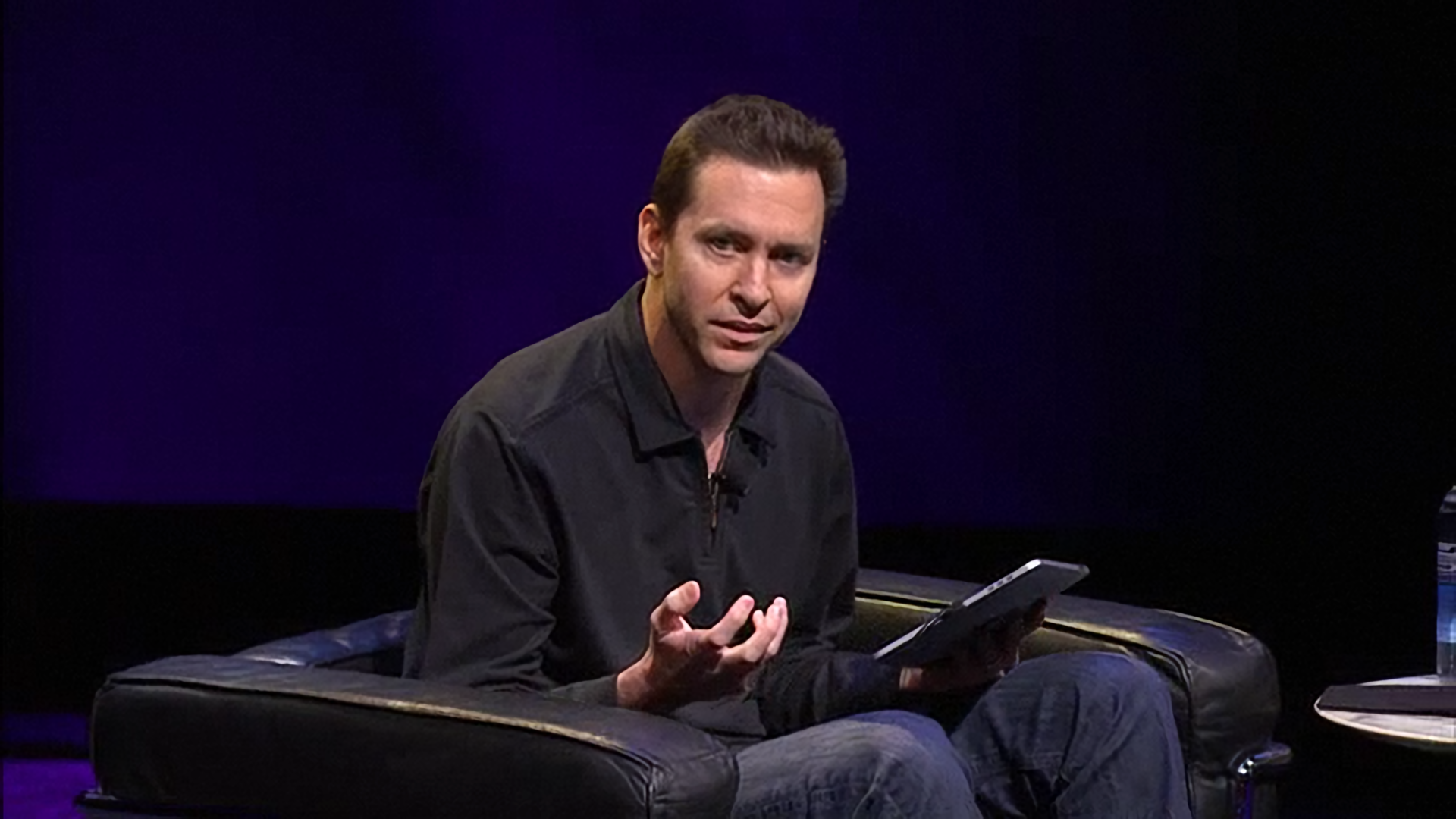 Scott Forstall in the chair.