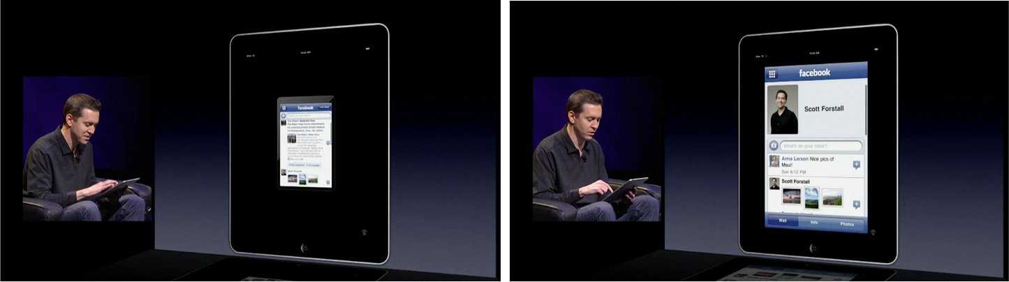 Forstall using Facebook in compatibility mode and pixel doubled.