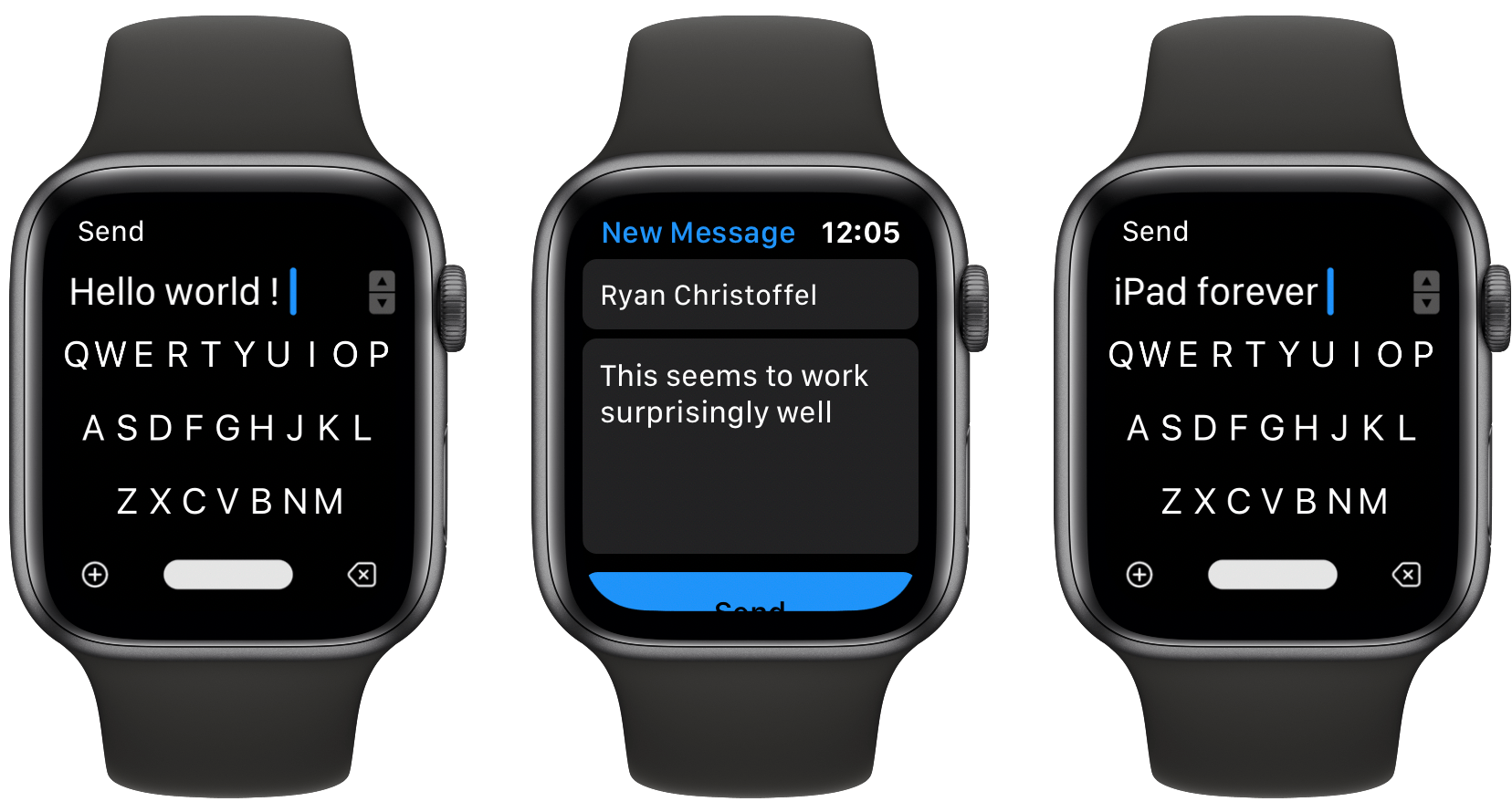 FlickType Keyboard Review: Real Typing on an Apple Watch Display
