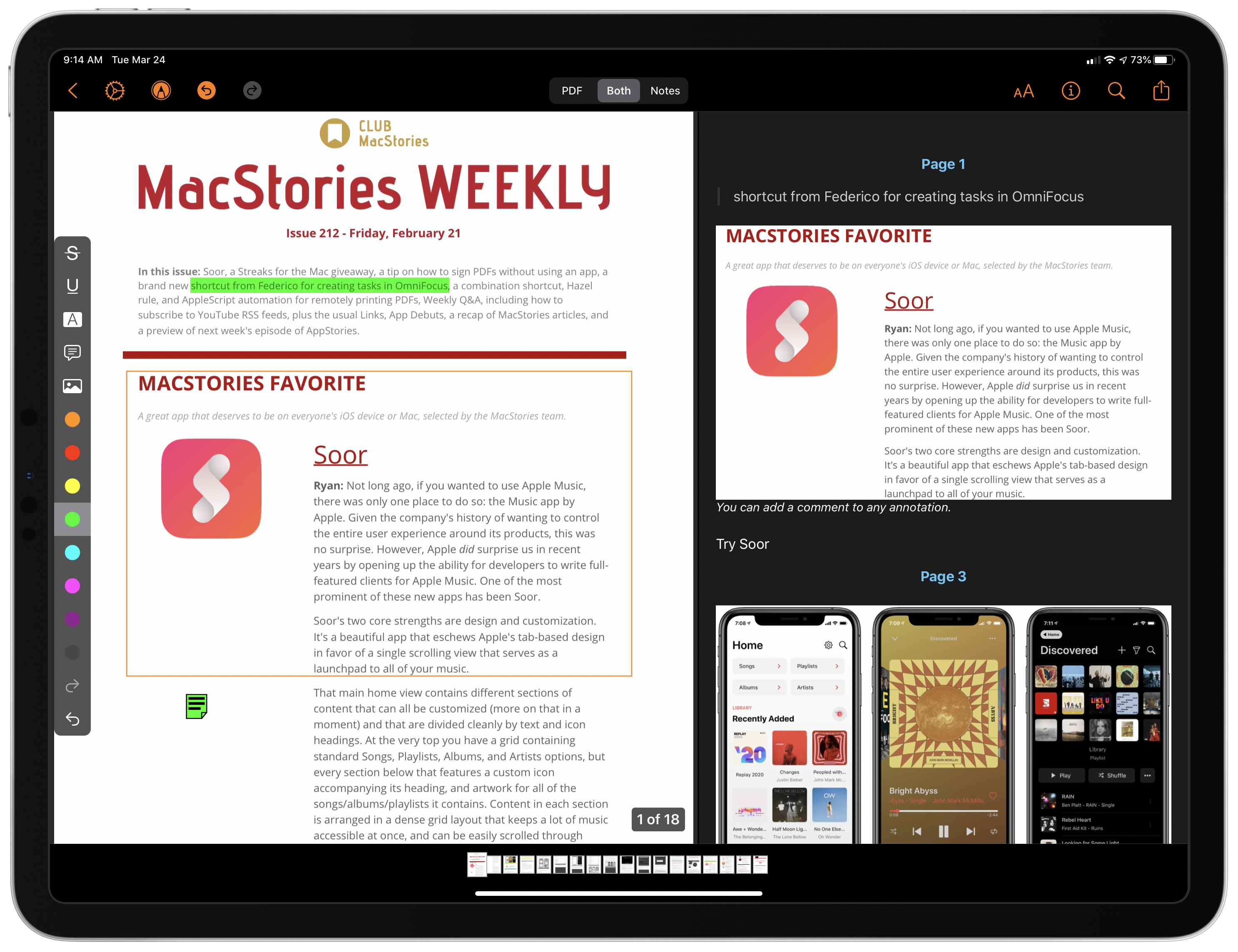 Highlights for iPhone and iPad: An Excellent Companion for Researchers