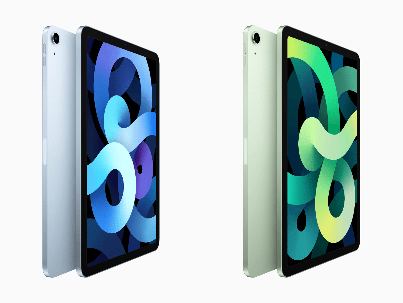 The new iPad Air resembles the iPad Pro's design. Source: Apple.