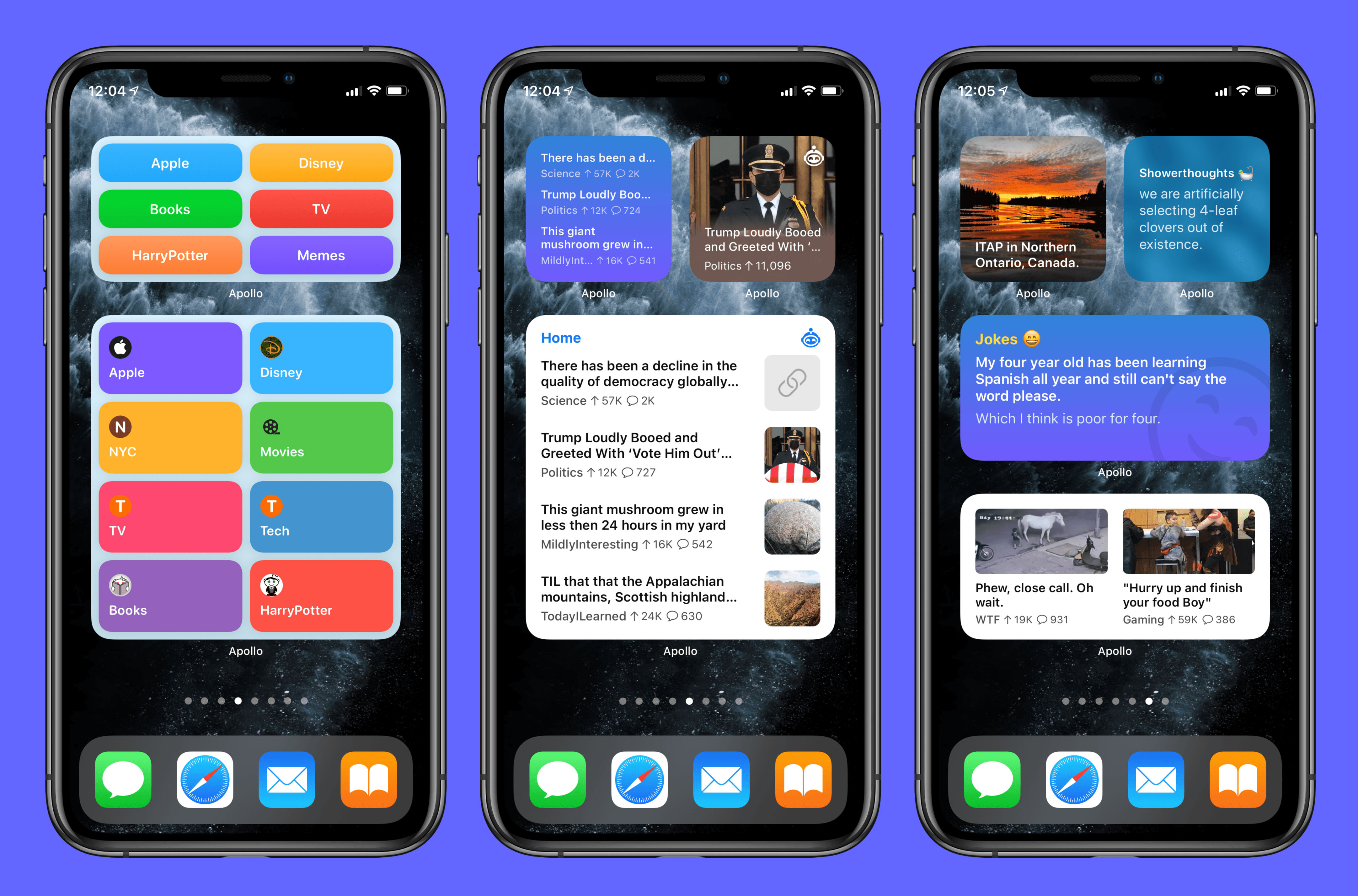 Apollo Brings the Best of Reddit to iOS 14's Widgets