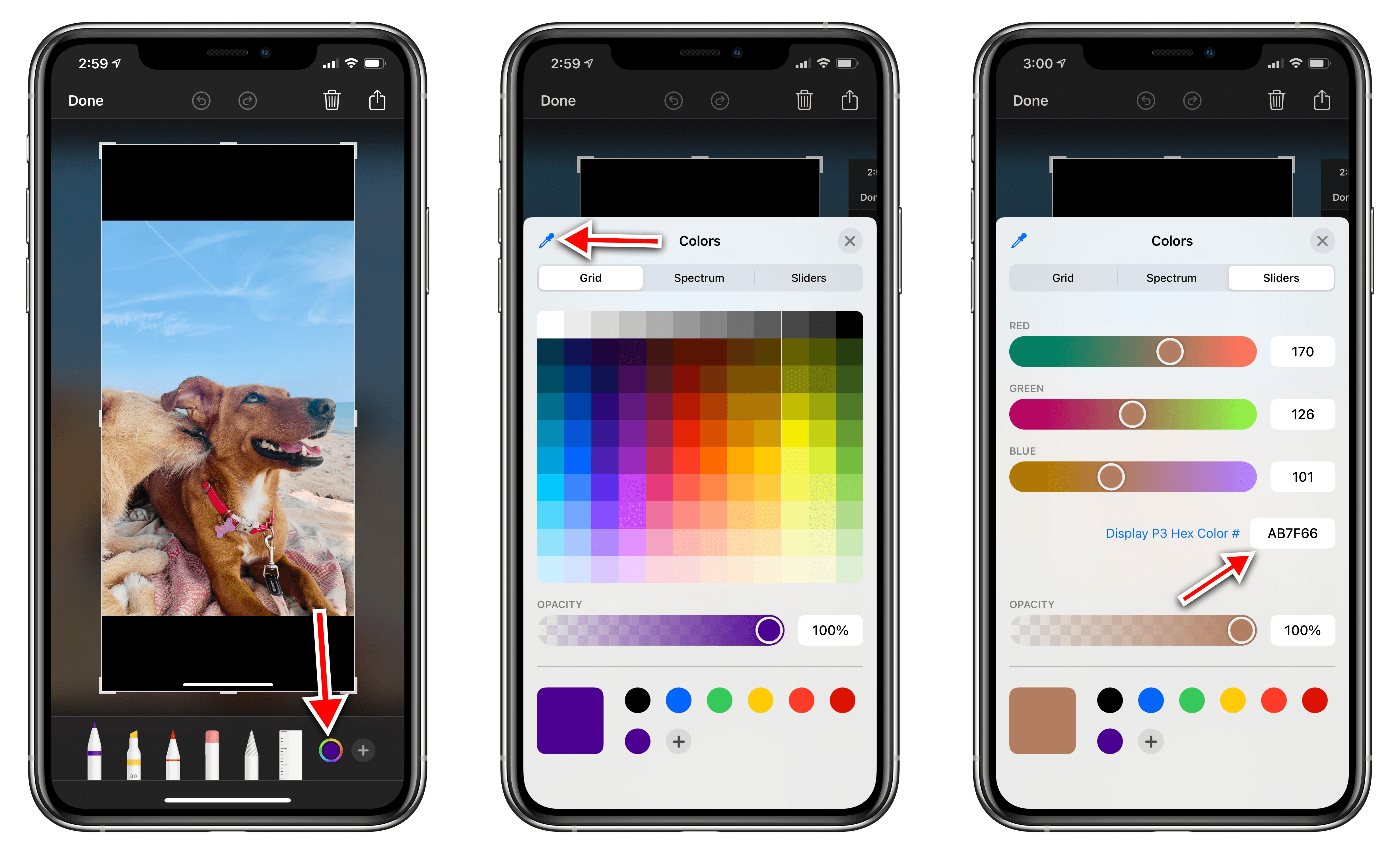 You can save any color from any photo using iOS 14's new color picker.