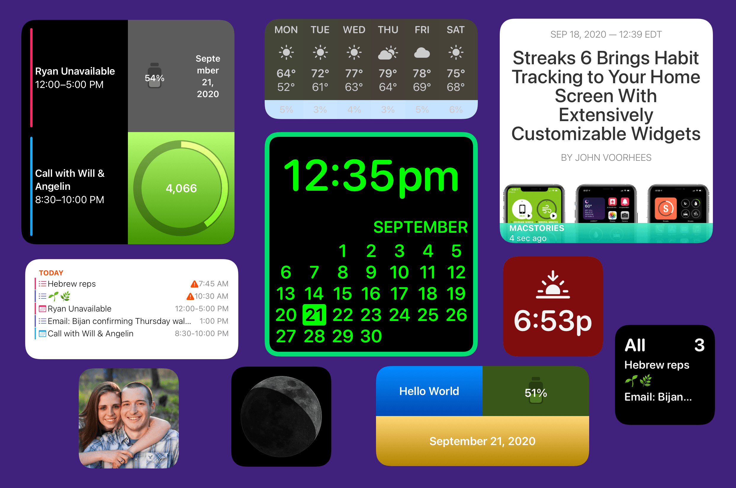 Creating Your Own Widgets: A New Category of Apps Emerges