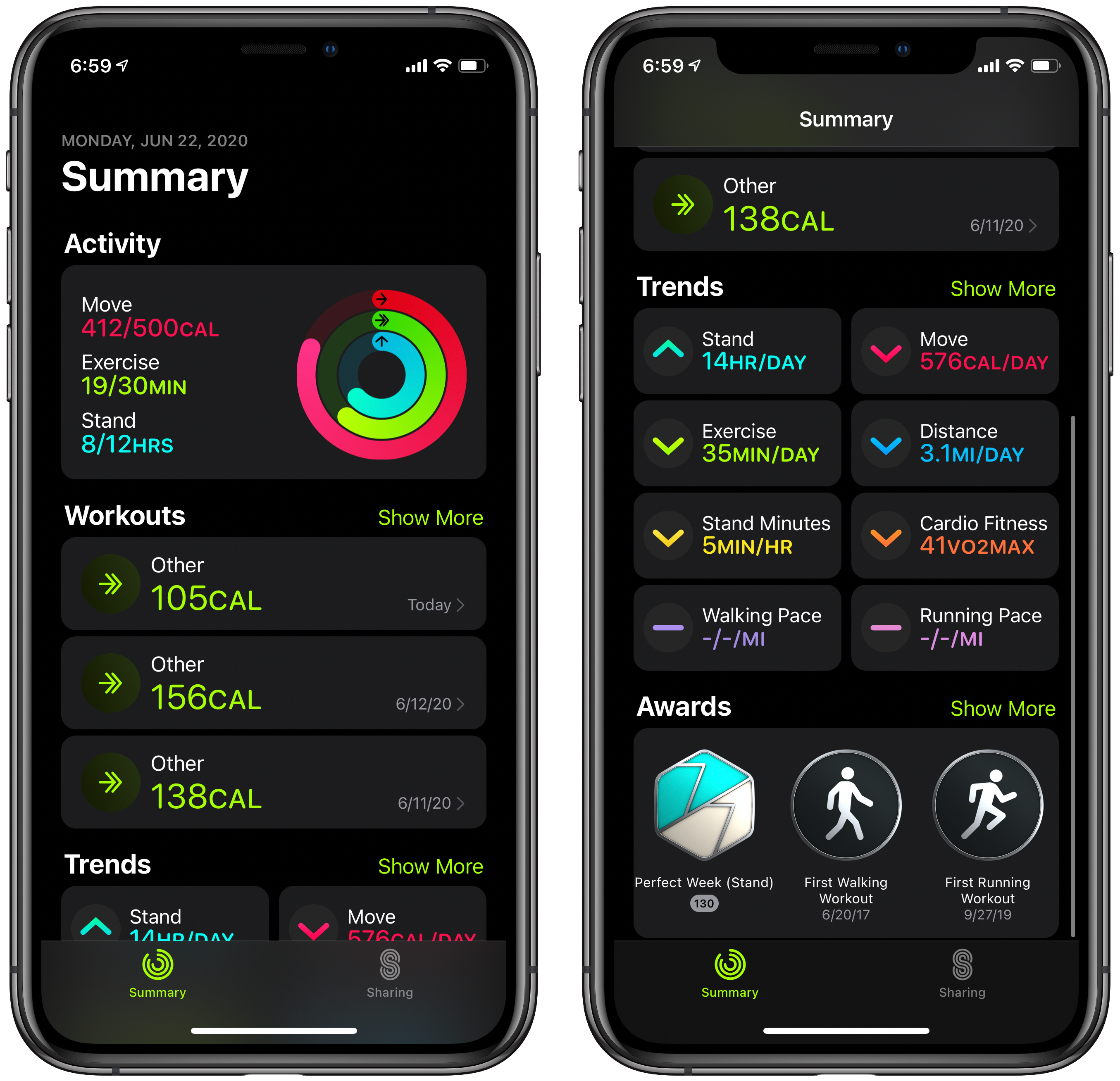 The Activity app is now called Fitness.