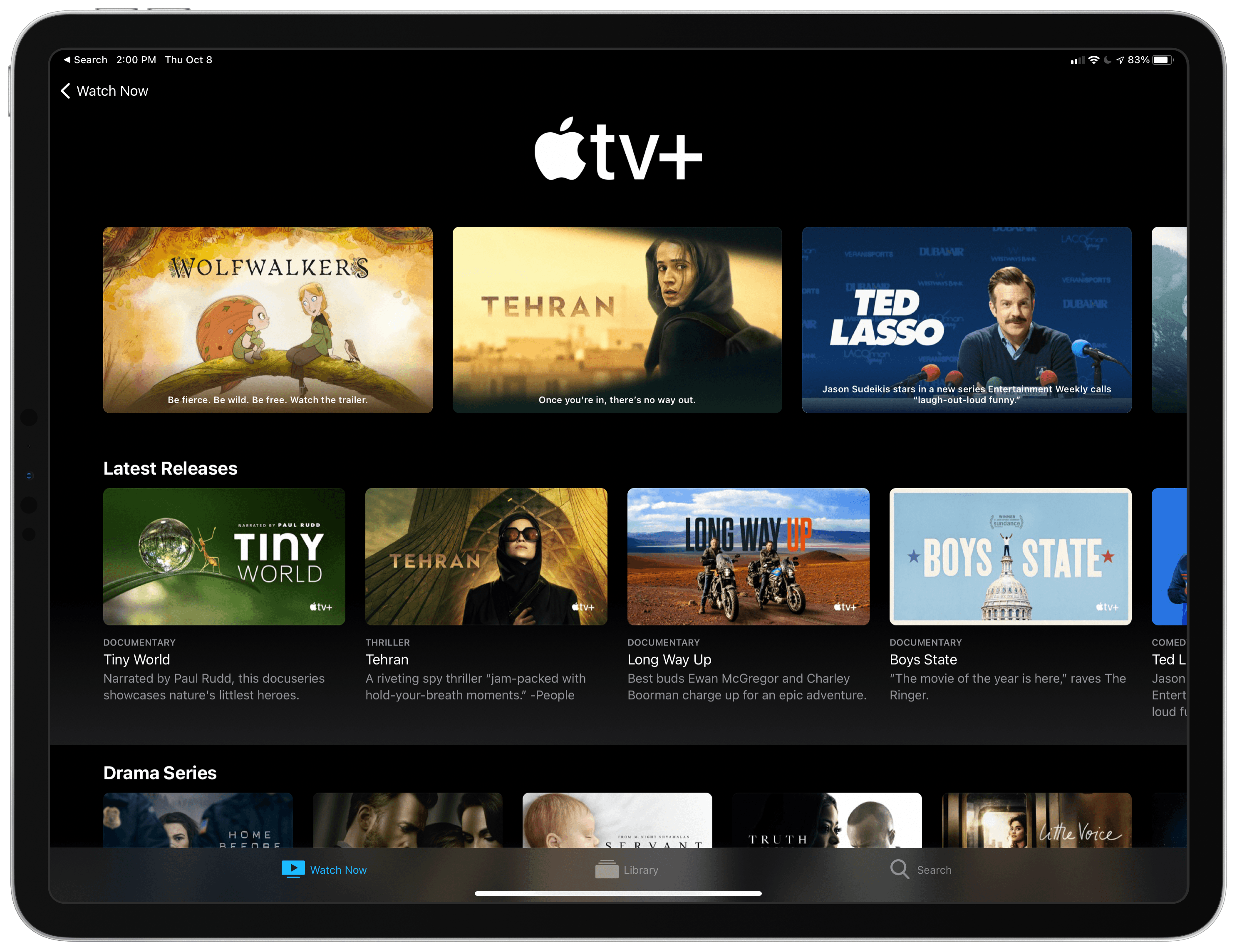 Apple to extend some free subscription to video-streaming service through February