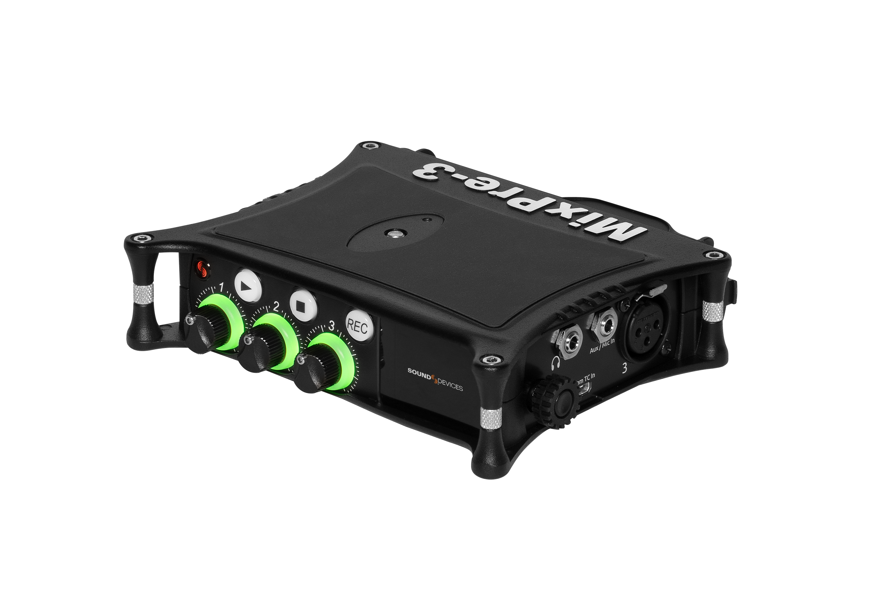 The MixPre-3 II. Source: Sound Devices